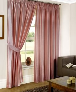 Albergo - Pink Pencil Pleat Curtain #1