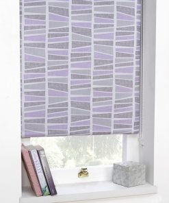 Heather Madagascar Blackout Roller Blind
