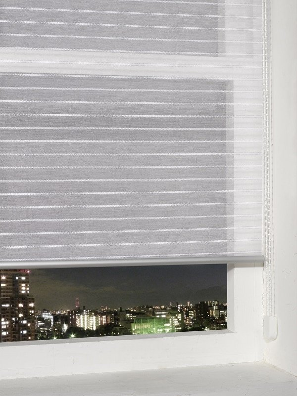 Silver Sheer Roller Blind Homefords