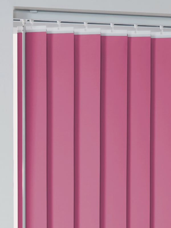Fuchsia Vertical Blackout Blind Slats Only Box Of 4