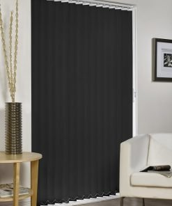 Vertical Blind - Black Striped