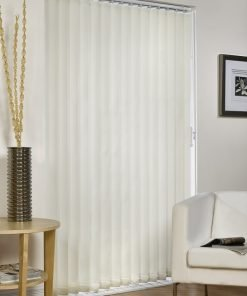 Vertical Blind - Cream Striped