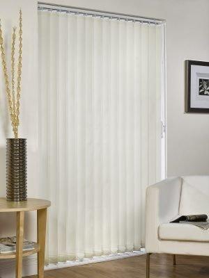 Vertical Blind - Cream Striped