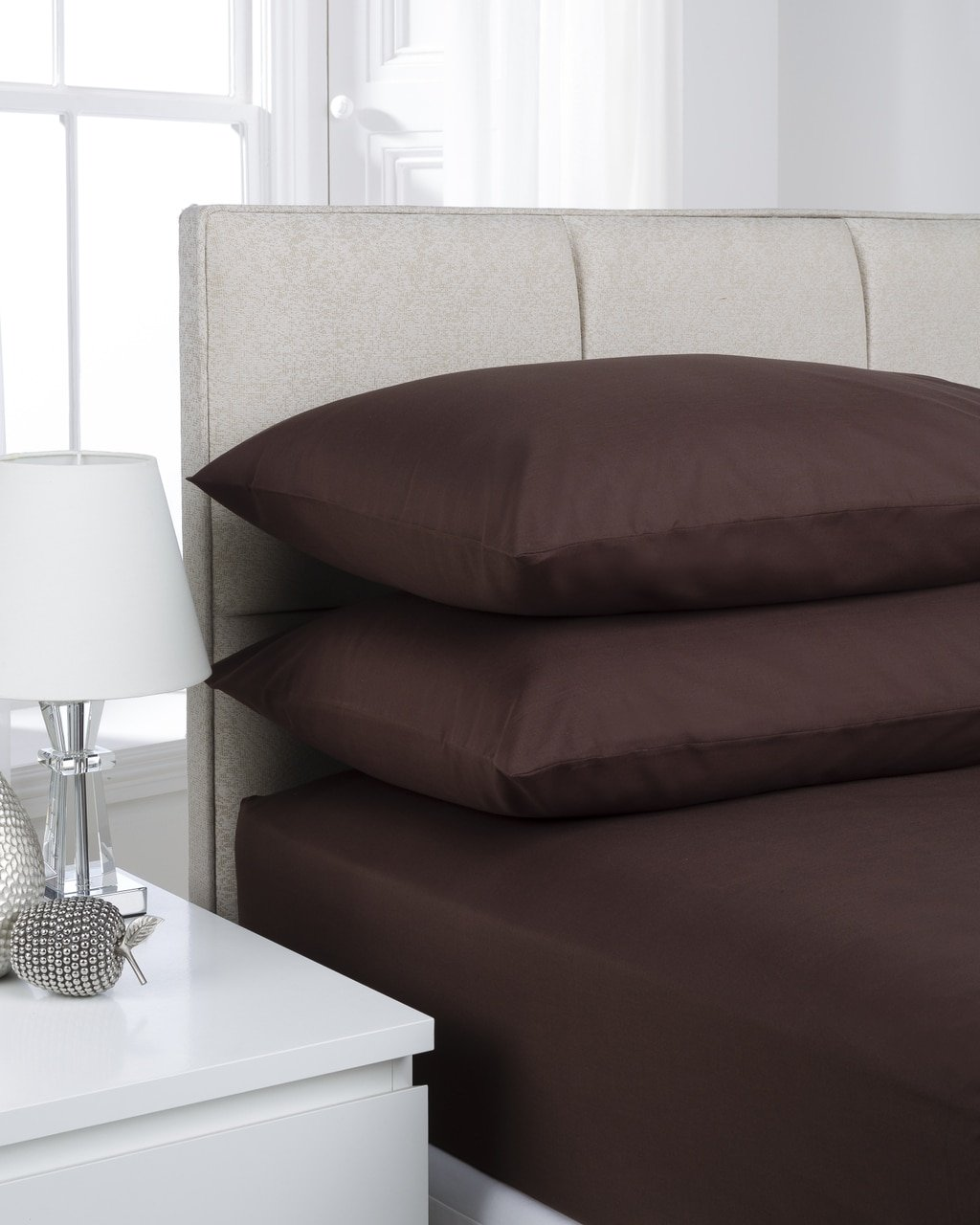 Great Chocolate Plain Dyed Bedding