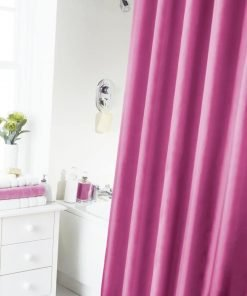 Fuschia Shower Curtain