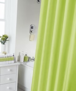Lime Shower Curtain