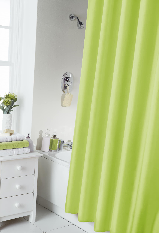 Lime Shower Curtain & Ring Set - Homefords