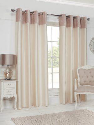 Cream Eyelet Grace Curtains