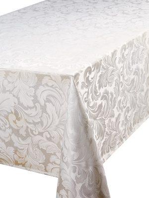 Cadiz oblong tablecloth glacier