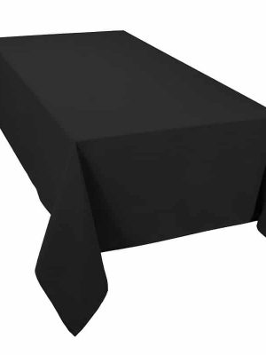 Classic Tablecloth Black