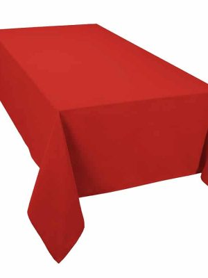 Classic Tablecloth Red