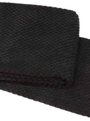 hyggelig black throw
