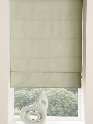 Faux Suede Roman Blind Natural