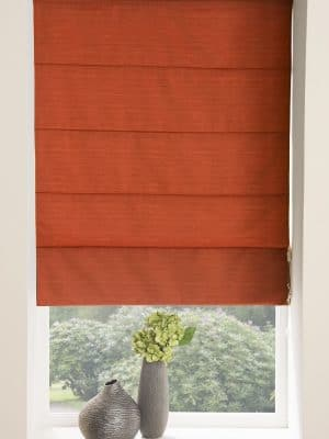 Moonlight Roman Blind Brick
