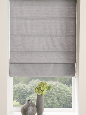 Moonlight Roman Blind Grey