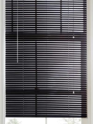 black Aluminium Venetian Blind