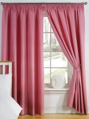 elements fuchsia curtain