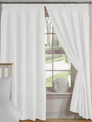 elements white curtain