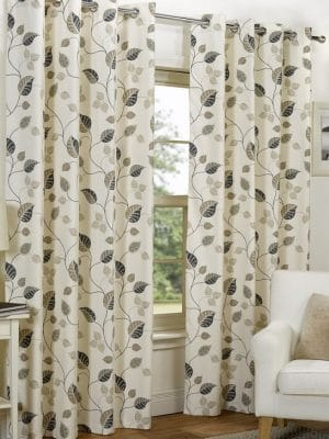 spring taupe curtains