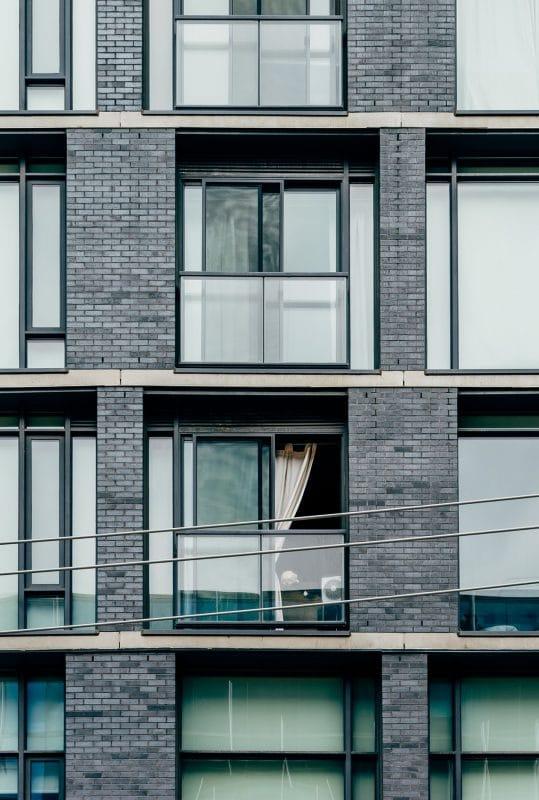 Curtains in an apartment
