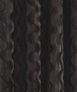 Ripple Velvet Curtain Silver Crop