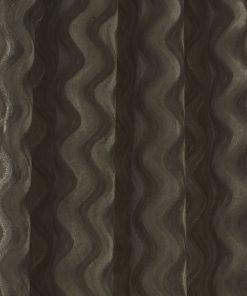 Ripple Velvet Curtain Taupe Crop
