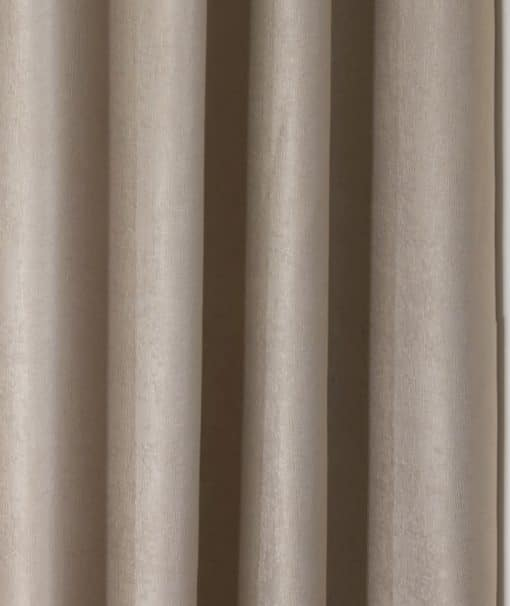 Woven Blackout Eyelet Curtains in Natural