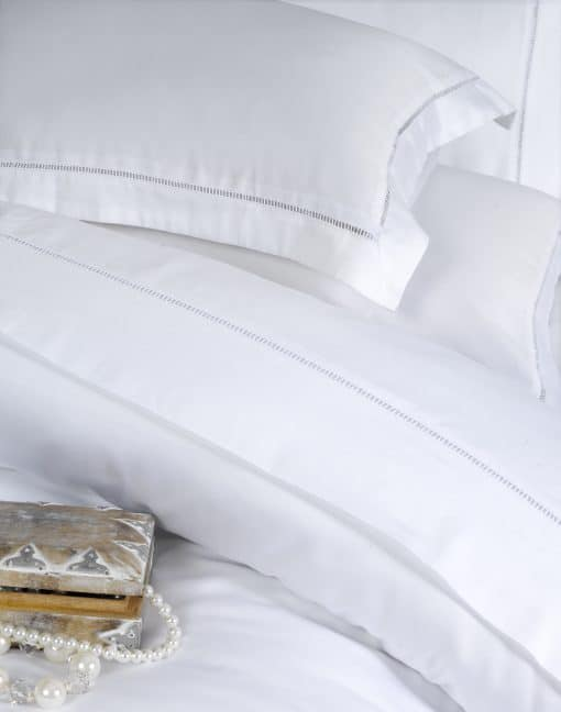 1000 Thread Count Pillowcase in White