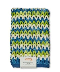 Luxurious Crosshatch Bathmat in Lime