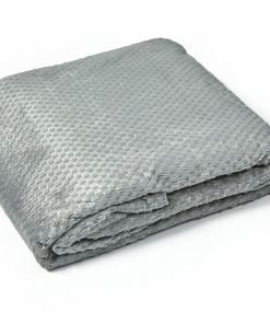 Soft Touch Throw in Silver