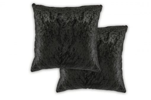 Luxury Cushion Cover in Black