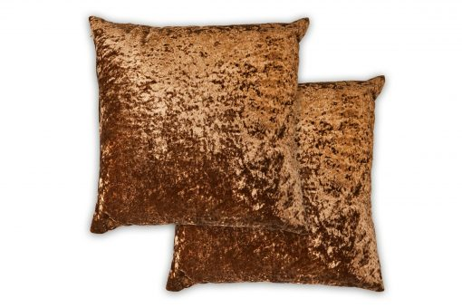 Luxury Cushion Cover in Brown