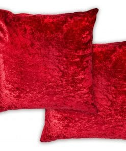 Luxury Cushion Cover in Red