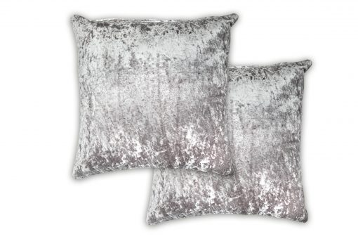 Luxury Cushion Cover in Silver