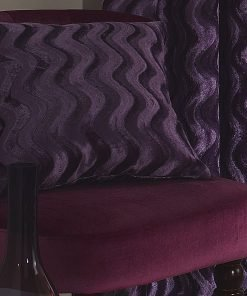 Embossed Velvet Cushion Cover in Heather