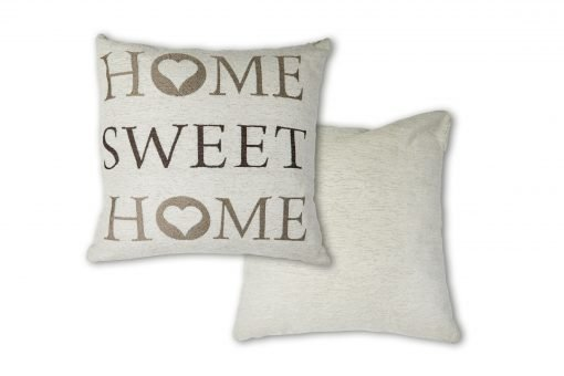 Jaquard Cushion Cover in Beige