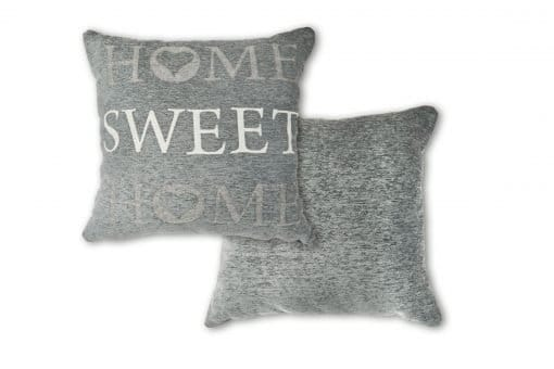 Jaquard Cushion Cover in Silver
