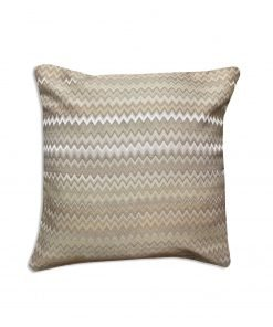 Jacquard Cushion Cover in Beige