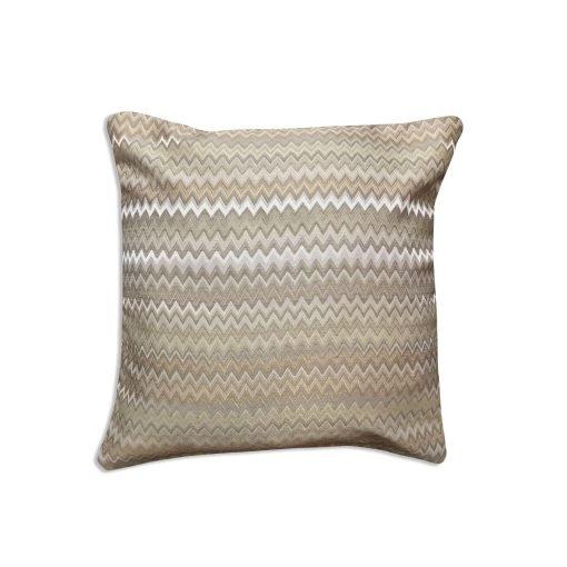 Jacquard Cushion Cover in Beige