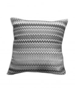 Jacquard Cushion Cover in Silver