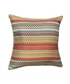 Jacquard Cushion Cover in Terracotta