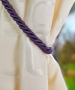 Rope Tieback Aubergine