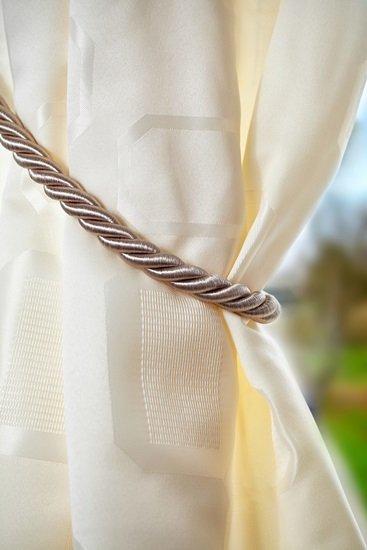 Rope Tieback Beige
