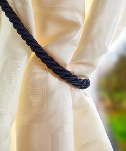 Rope Tieback Black