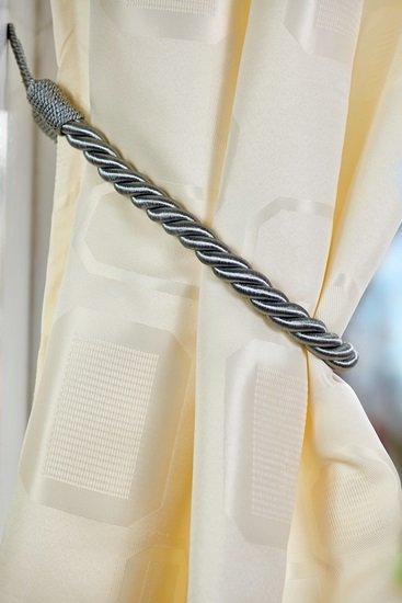 Rope Tieback Silver
