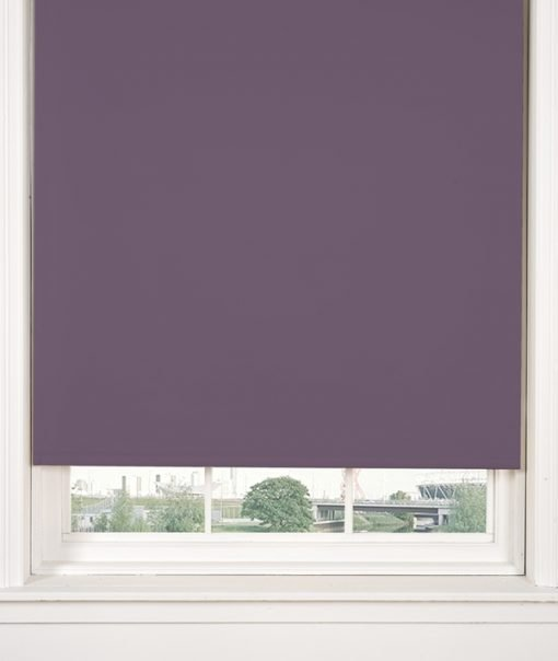 Blackout Roller Blind in Heather