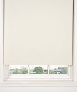 Blackout Roller Blind in Cream