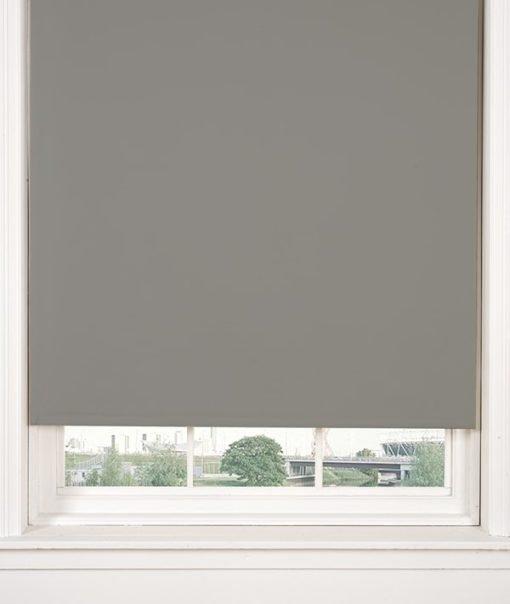 Blackout Roller Blind in Grey