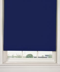 Blackout Roller Blind in Royal Blue