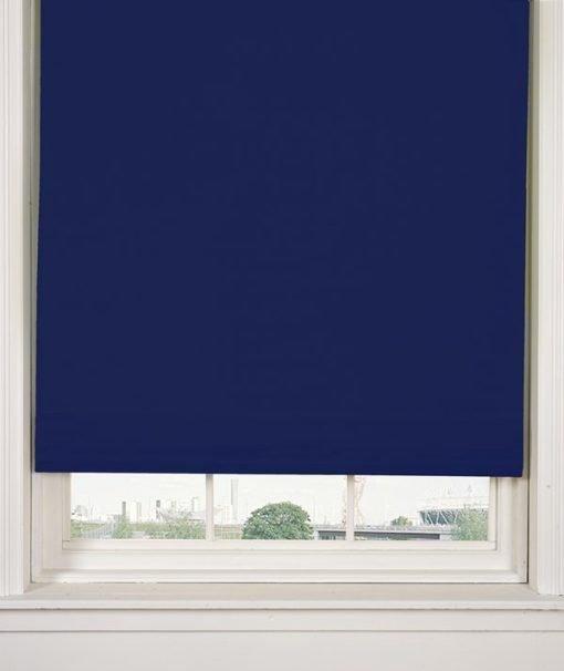 Blackout Roller Blind in Royal Blue